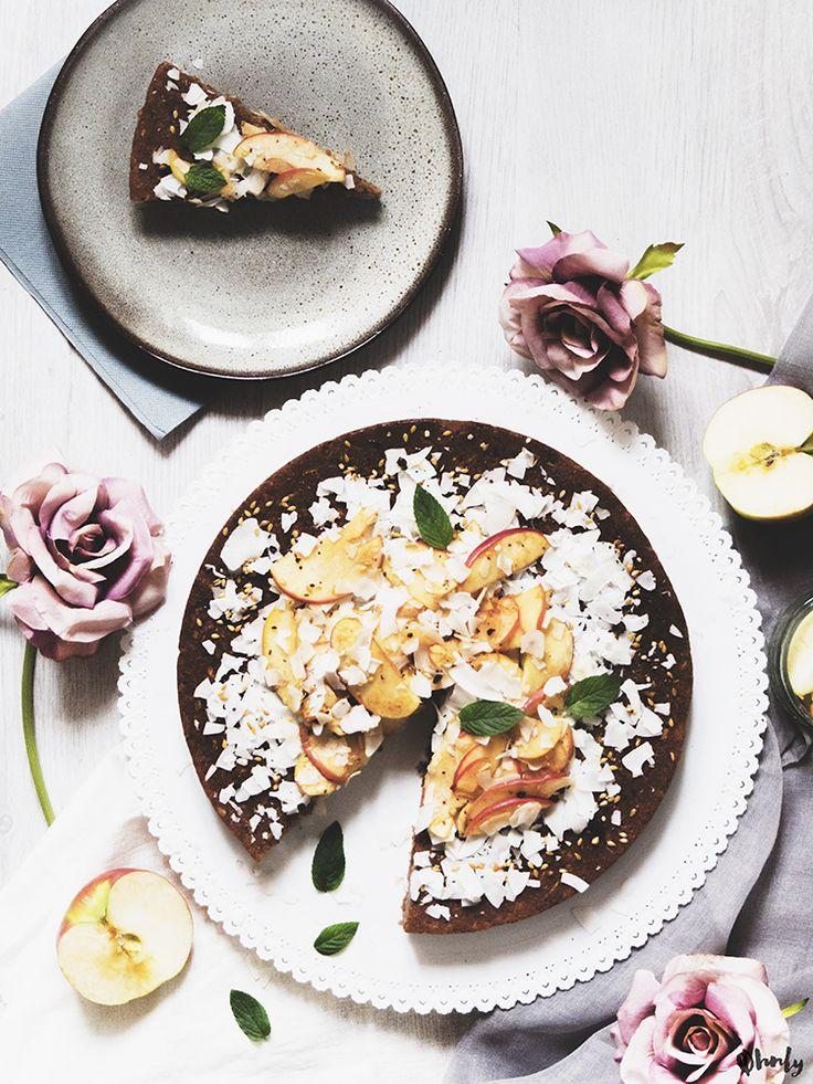 Rezept: Zuckerfreier Zimt Apfel Zucchini Kuchen