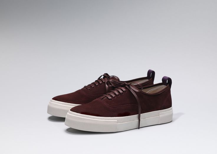 #Eytys Mother Suede in Oxblood.