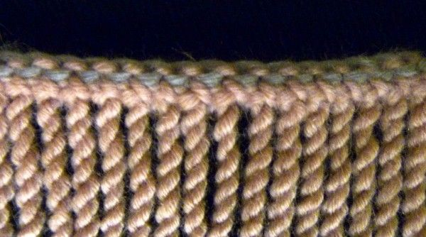 how to crochet twisted fringe from Stitch Story