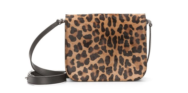 Barbara Bui  Touch me leopard print bag, €1200.