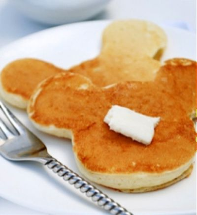 Mickey Mouse pancakes, my dad used to make these all the time when I was little!!! Love you buddy  ;-)