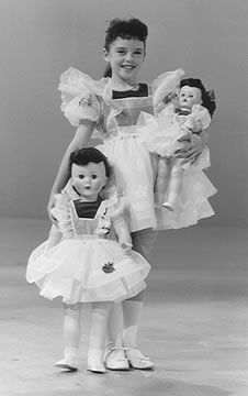 Dolls - Angela Cartwright with her dolls