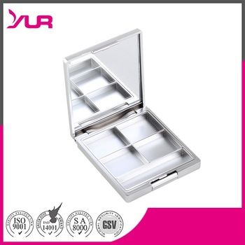 factory price cosmetic empty wholesale makeup eyeshadow palette