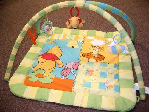 Amazon.com: Disney Winnie the Pooh Baby Toy Play Mat Gym: Baby