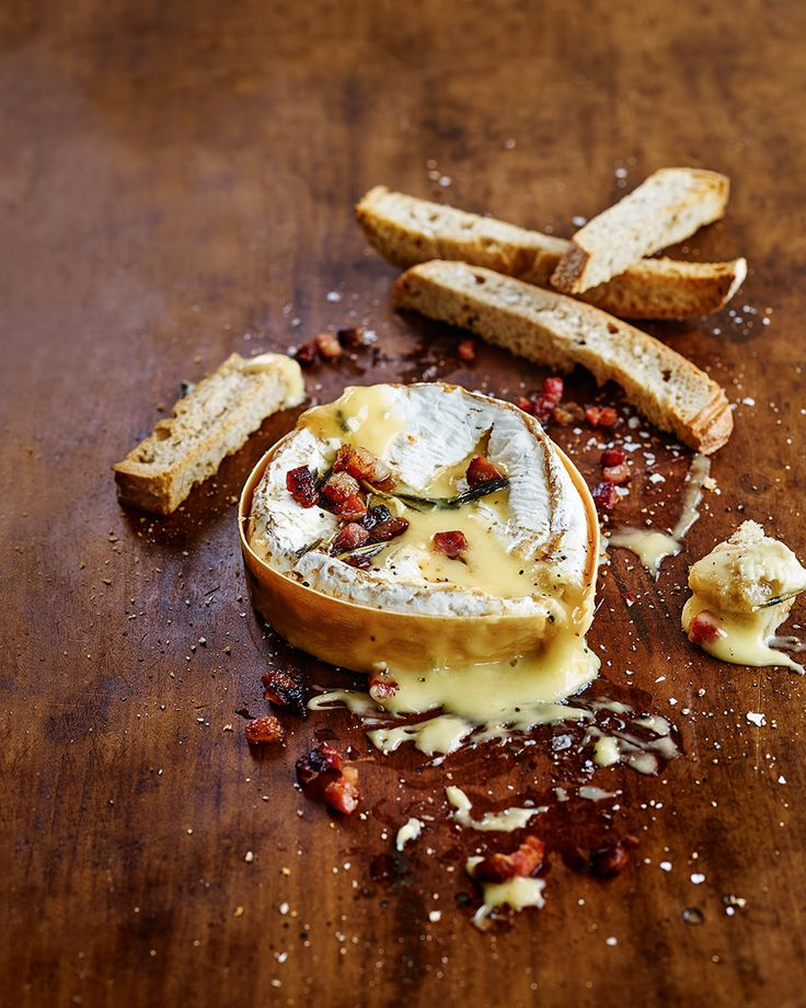 If sweet dreams are made of cheese then this recipe will make sure they come true. An oozy, boozy, pancetta-covered baked camembert is the perfect dinner party starter.