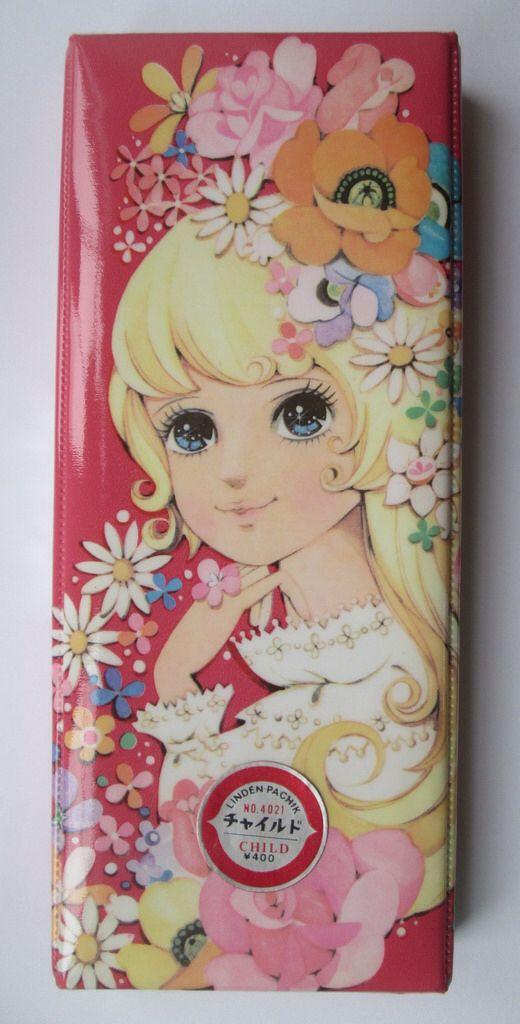 """""""Flowers"""" pencil case (front)"""