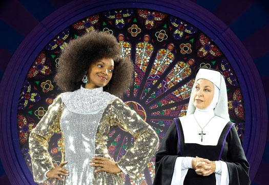 Dieses Musical schickt der Himmel. Sister Act im Stage Apollo Theater in Stuttgart.  #Sister #Act #Nonnen #Musical #Whoopy #Goldberg #Stuttgart #Apollo #Theater #Stage #Entertainment #Broadway #Zodwa #Selele #StageEntertainment #SI-Centrum #Show