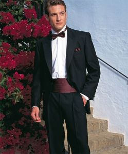 Dinner suit for the groom