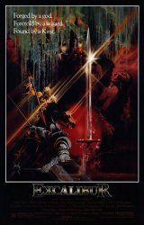 Excalibur , 1981 UK , by John Boorman ; Morgana (Helen Mirren 36-y) , King Arthur (Nigel Terry 36-y)