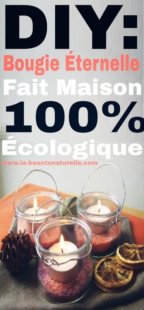 Diy bougie ternelle fait maison 100 cologique d coration d 39 int rieur bougies fait - Bougie fait maison ...