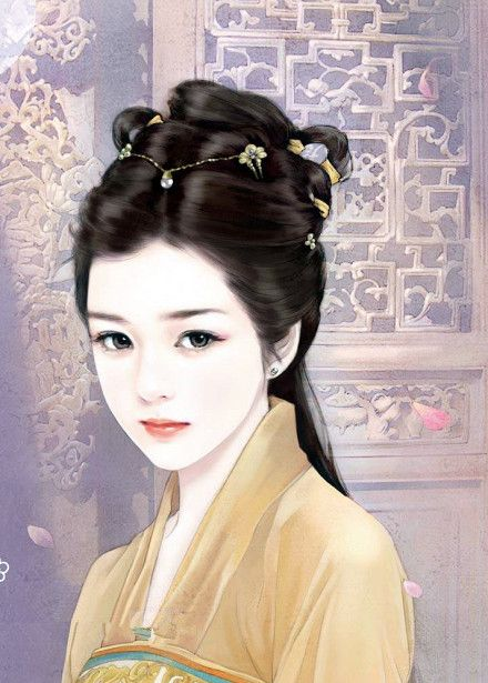 Asian Gilrs Beauty Asiatic Scene Japanese Korea Chinese Clothes Drawing Illustration  Costume Clothing Style Interacts Extraordinary Painting Techniques Art Elegant Atmosphere