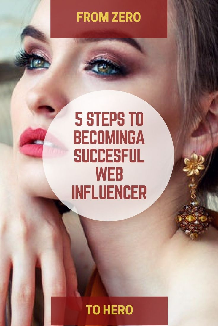 To make money online, you must be a successful web influencer. Here's how to become an influencer starting from scratch with no audience.