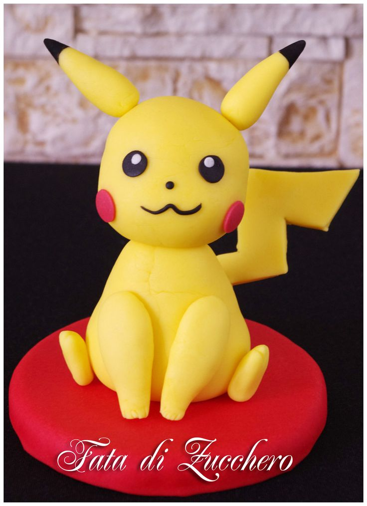 Pikachu cake topper by Dyda81 on DeviantArt                                                                                                                                                      More