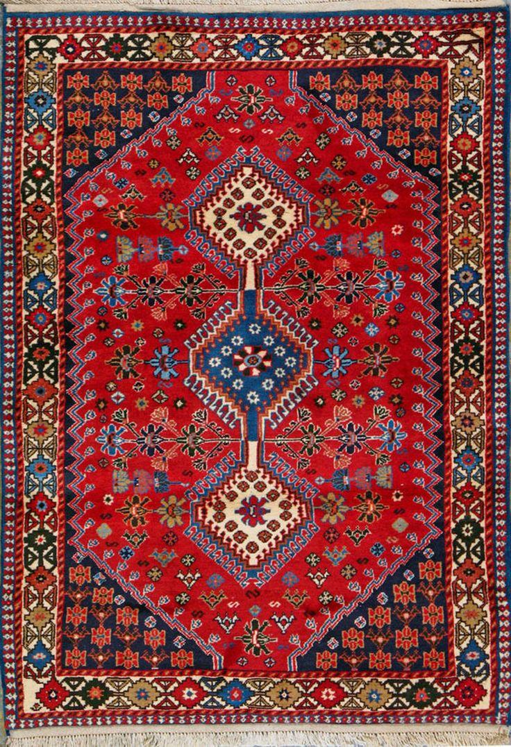Yalameh Persian Rug 3 6 Quot X 4 10 Quot Tappeti Persiani
