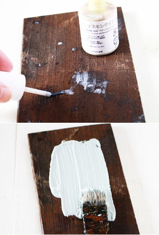 古材風 Diy 塗装 塗装剥げ加工法 Diy 塗装 エイジング塗装 アンティーク