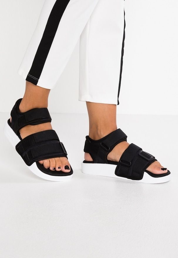 ADILETTE 2.0 Sandaler core blackfootwear white