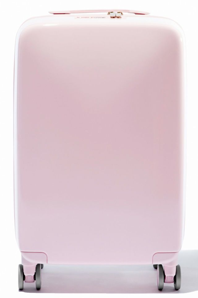 This sleek case weighs itself, locates itself with GPS, is 100% TSA-approved, and comes in an array of shades including an eye-catching bubblegum pink. It's everything you didn't know you needed, but immediately must have.  Raden The A22 Carry, $295; raden.com