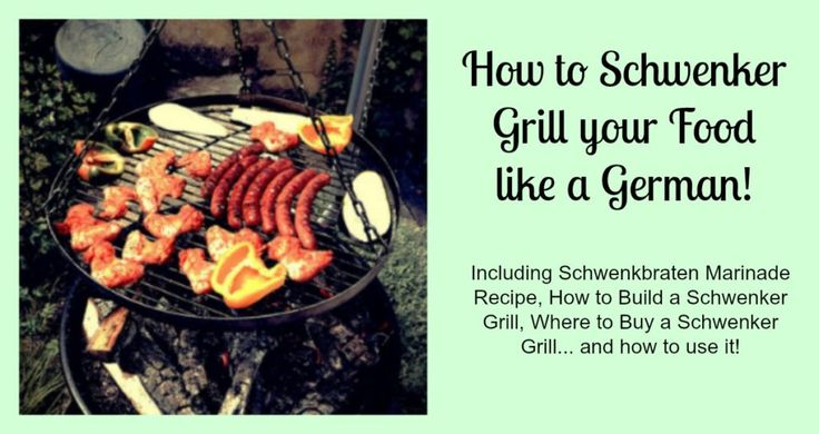 Once you know how to Schwenker Grill, you may never want to go back.Learn how to do it here! Find Schwenkbraten marinade recipes and Schwenker grills here!