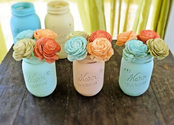 Wedding Centerpiece, Wedding Reception, Aisle Decor, Bridal Shower, Shabby Chic Wedding, Rustic Wedding on Etsy, $8.00