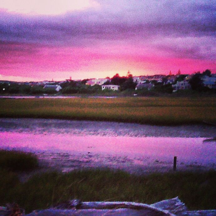 Stilbaai! View from our house.. how did this get here?