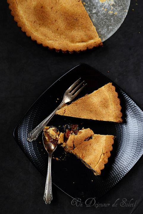 Tarte aux noix (Nusstorte) - Nut tart