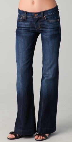 7 For all mankind dojo petite flare jeans- for a change from my skinny jeans