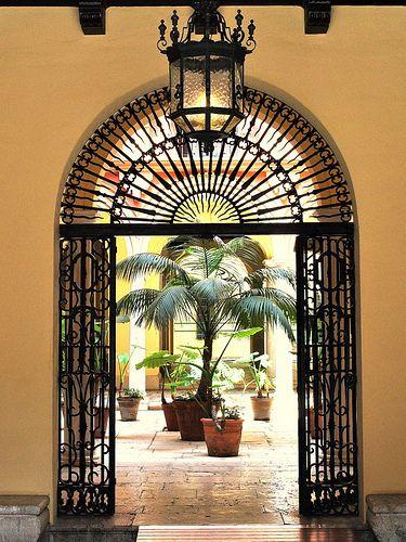 Malaga courtyard