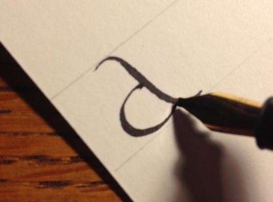 How to Write Calligraphy Lesson 1: Getting Started - Snapguide