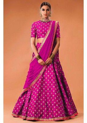Bollywood Replica - Festival Wear Pink Lehenga Choli  - WCPink