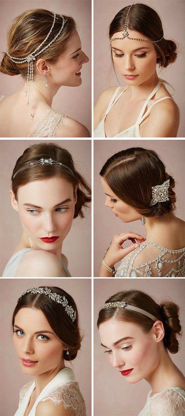 Peinetas vintage para novias - Las joyas de BHLDN... ¡woooow!