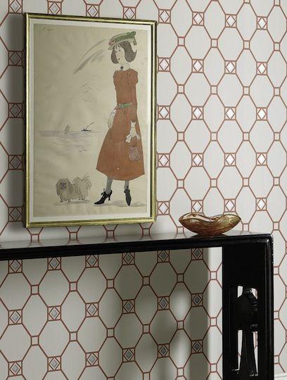 Tapet-kollektionen Braemer, Nina Campbell har funnit inspiration i högtider och utflykter i den skotska landsbygden med sina romantiska slott och sjöar som skapar en drömlik bakgrund. Denna kollektion i Nina Campbells klassiska färgpalett passar även utmärkt med Braemer-tygkollektionen. TAPET NINA CAMPBELL HUNTLY , 04  760 kr/rulle.