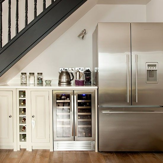 25 Clever Under Stairs Ideas To Optimize The Leftover: Best 25+ Fridge Makeover Ideas On Pinterest