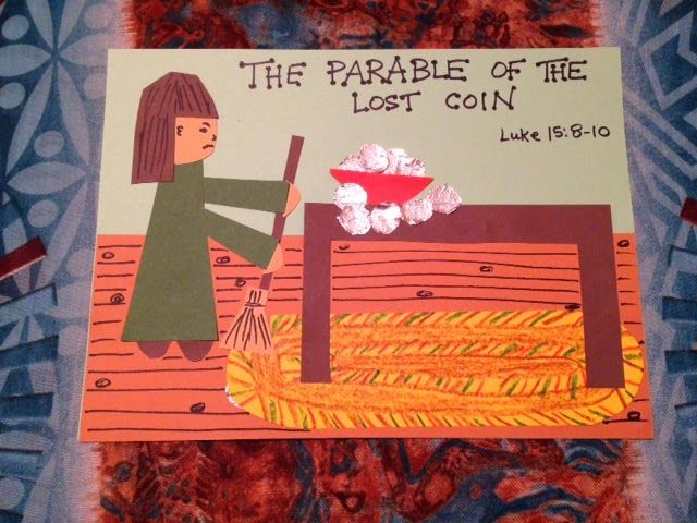 36 best parable of lost coin images on pinterest sunday school childrens bible lessons lesson the parable of the lost coin fandeluxe Choice Image