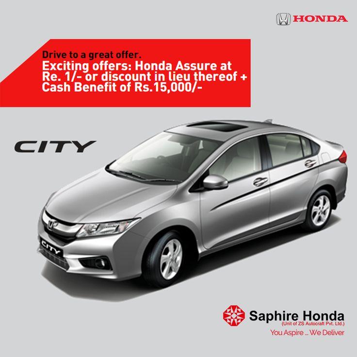 Drive Home A New Honda City. Visit Us: