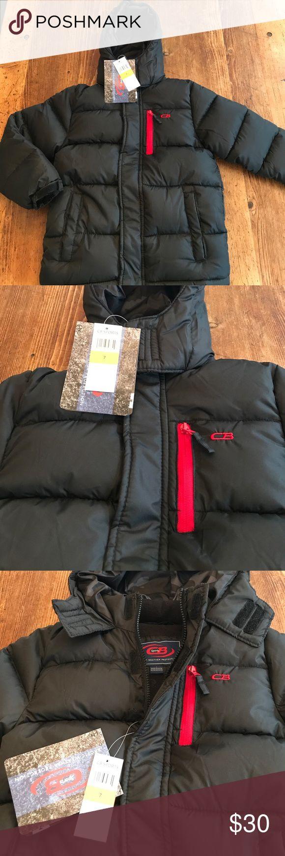 Boys winter coat nwt Really warm- lined with fleece cb sport Jackets & Coats Puffers