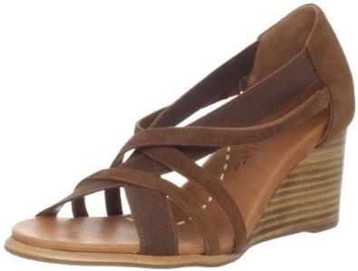 Gentle Souls Women's Glibber Wedge Sandal
