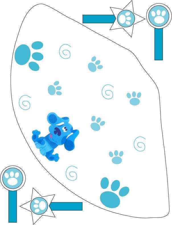 Mejores 32 imágenes de Blue Clues Birthday en Pinterest | Feliz ...