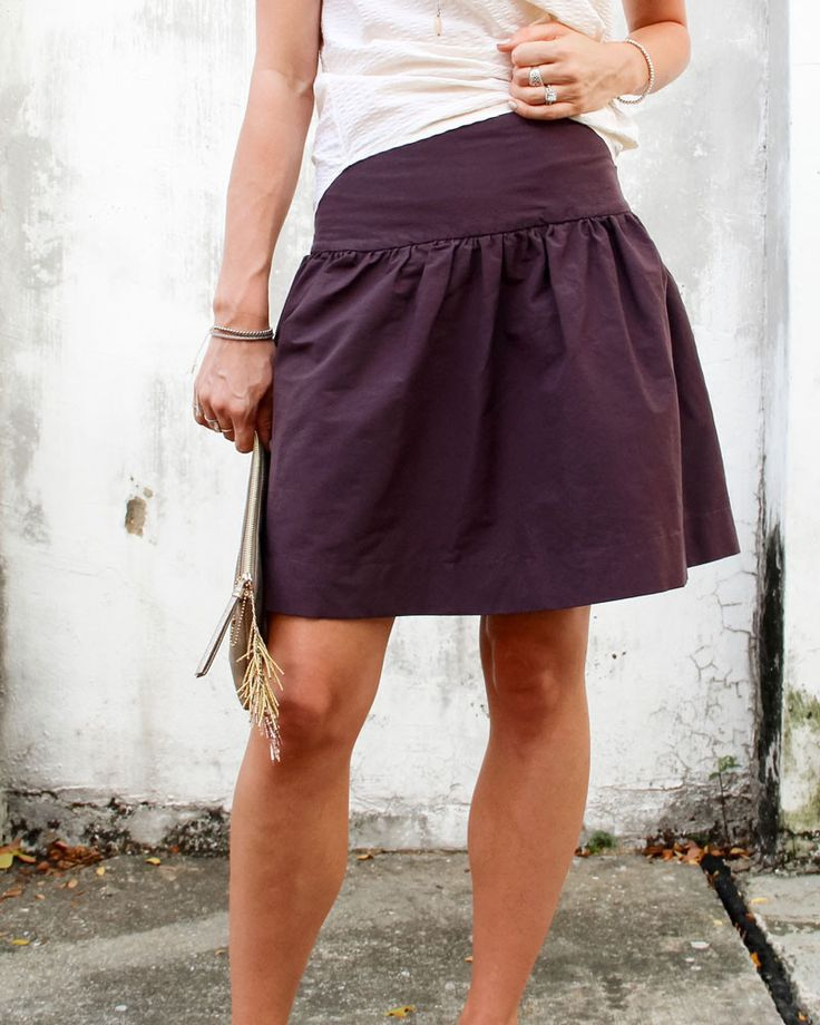 Cali Faye Collection Basics . Drop Skirt . womens Pattern and Tutorial