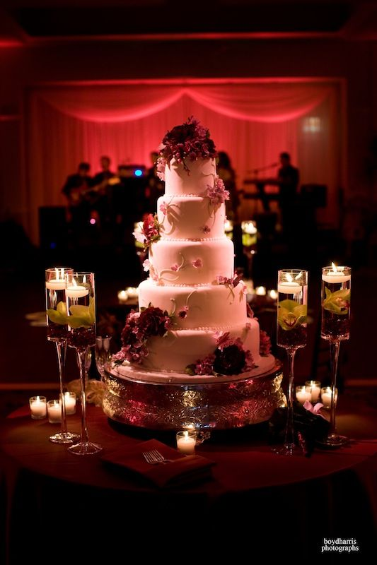 The Wedding Cake Table Should Highlight Beauty Of Like This One Does