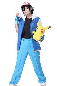 Pokemon Cosplay Ash Ketchum Costume