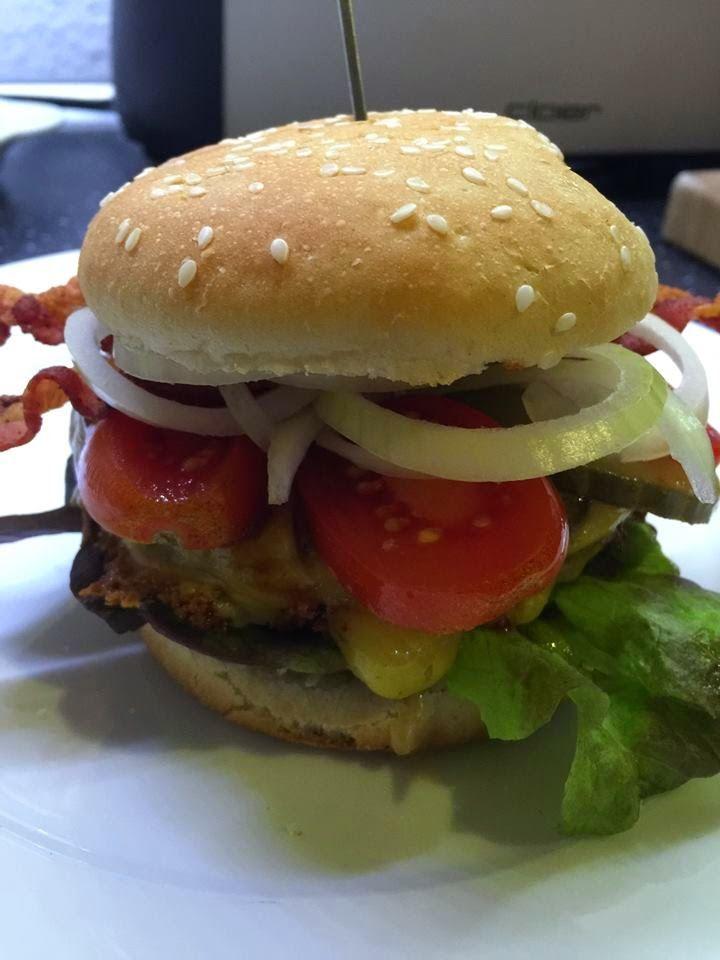 Thermosternchen: Bacon Jam Offenbarung für einen Burger