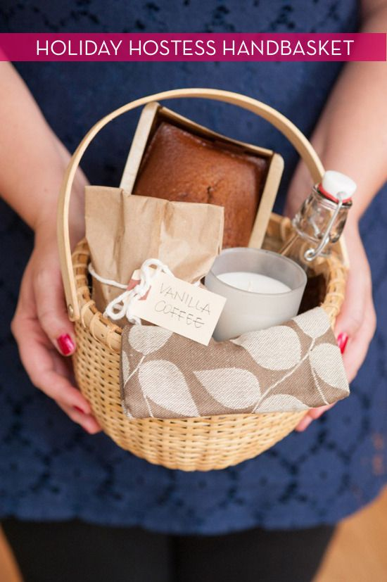 Give The Perfect Holiday Hostess Gift Basket
