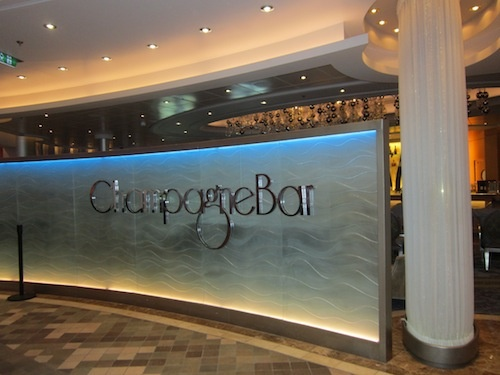 The Champagne Bar, great place to enjoy a fine beverage