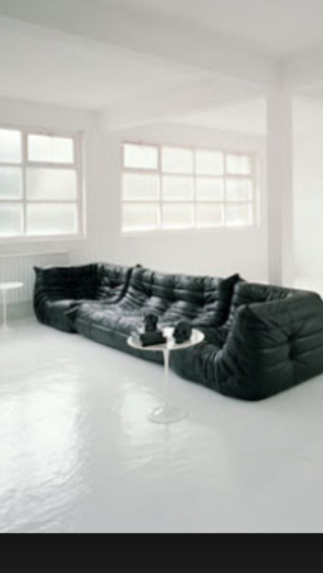 Togo Ligne Roset At Its Most Minimal. Could You Live Like This?