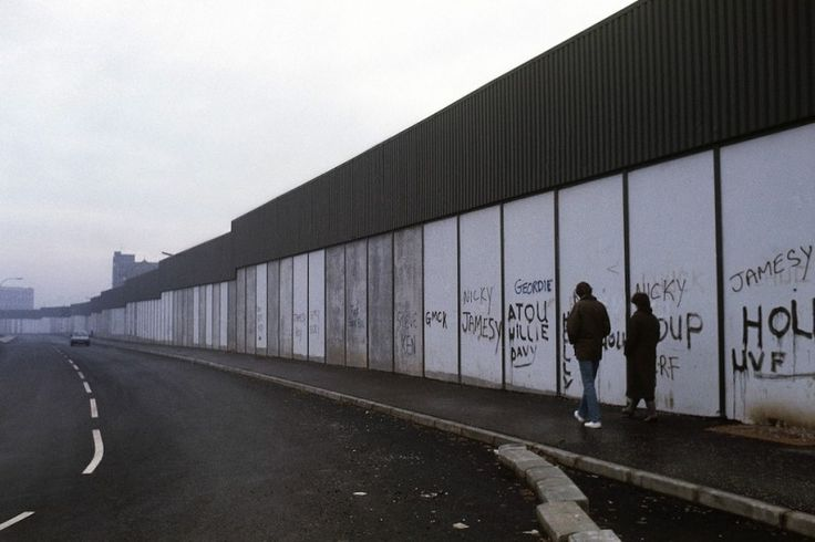 """""""PEACE"""" LINES: A SELECTION OF WALLS DIVIDING REGIONS"""