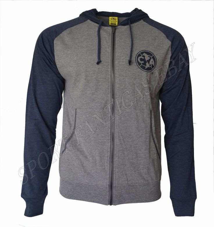 Club America Hoodie Soccer Fz Summer Light Zip up Jacket Mexico Adult Aguilas  #IconSportInc #ClubAmerica