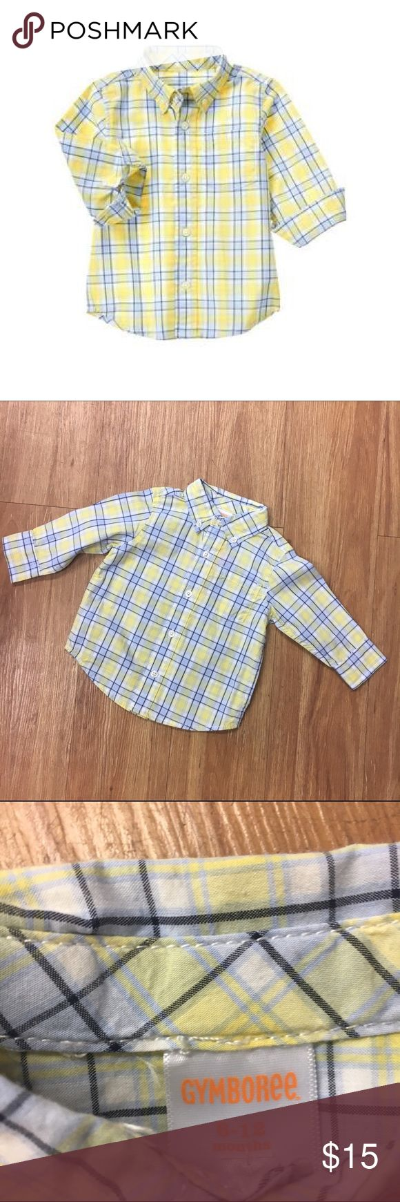 Gymboree Sunshine Yellow Plaid Shirt NEW NWT 6-12 Gymboree Sunshine Yellow Plaid Shirt NEW NWT 6-12 Mo  * 100% cotton poplin * Button front and collar * Chest pocket * Shirttail hem * Back pleat * Machine wash * Collection Name: Marina Party #new #nwt #plaid #yellow #blue #sunshineyellow #marinaparty #shirt #buttonfront #poplin #shirttail Gymboree Shirts & Tops Button Down Shirts