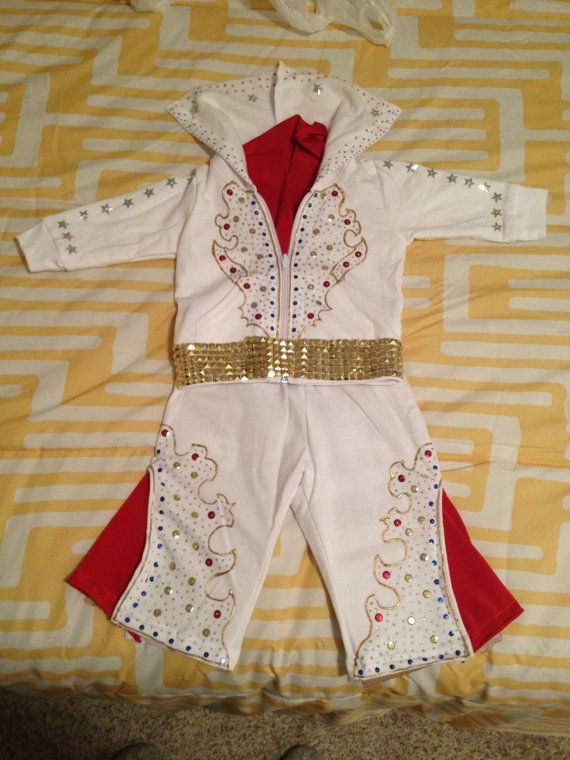 Toddler Elvis Costume by CraftedByAllie on Etsy, $140.00
