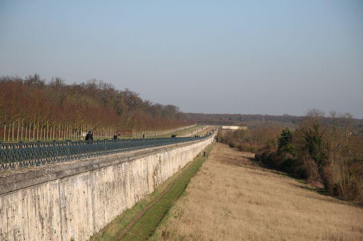 La grande Terrasse de Le Nôtre surplombant la vallée de la Seine. (C) MAN