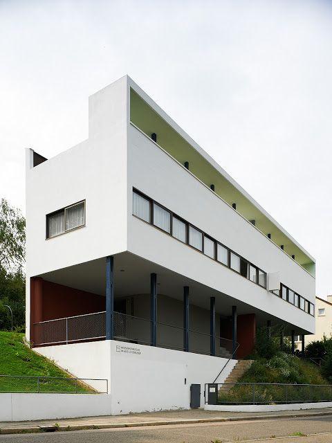 33arquitectures:  Le Corbusier, Weißenhofsiedlung, Stuttgart (1927)Photo: Iñaki Berguera